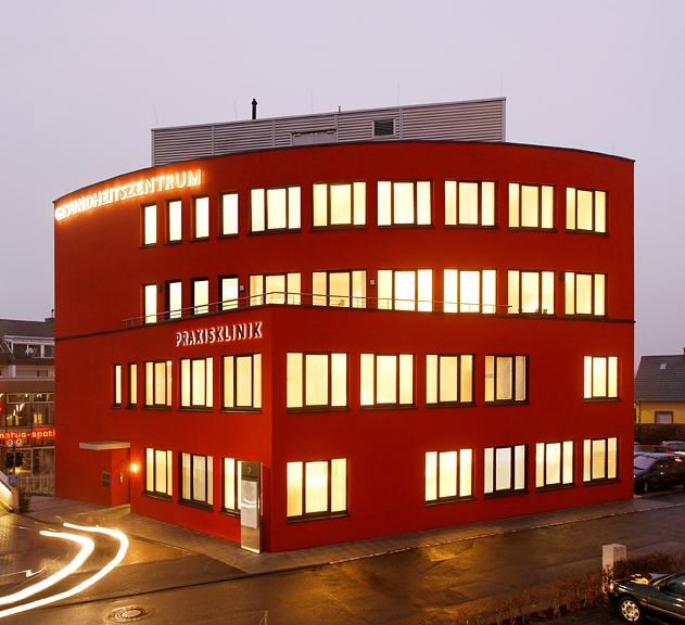 Practice clinic in Bornheim newly built in 2005